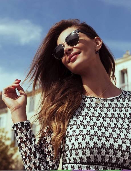 lunettes de soleil femme noires
