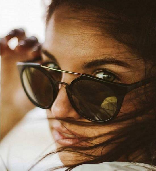 lunettes de soleil femme double pont