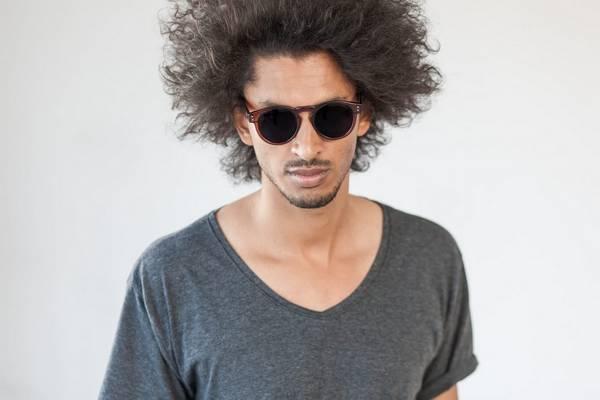 lunettes de soleil homme rondes